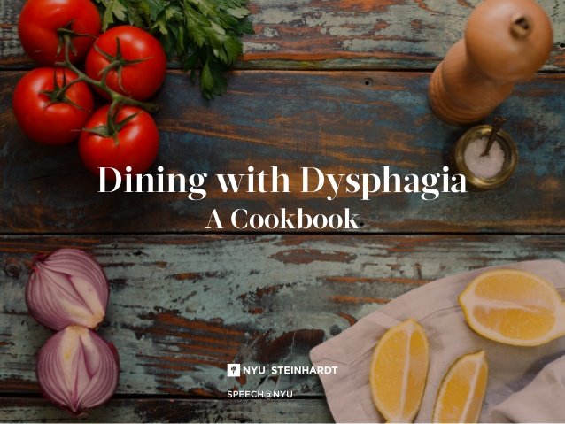 Dining with Dysphagia: A Cookbook