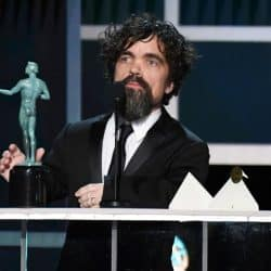 Peter Dinklage accepts SAG Award