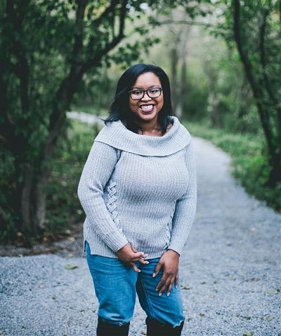 """Keah Brown, author of """"The Pretty One"""" and creator of #DisabledAndCute."""