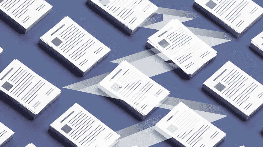 multi resumes lined up