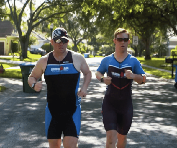 The first IRONMAN with Down syndrome races forward for inclusion